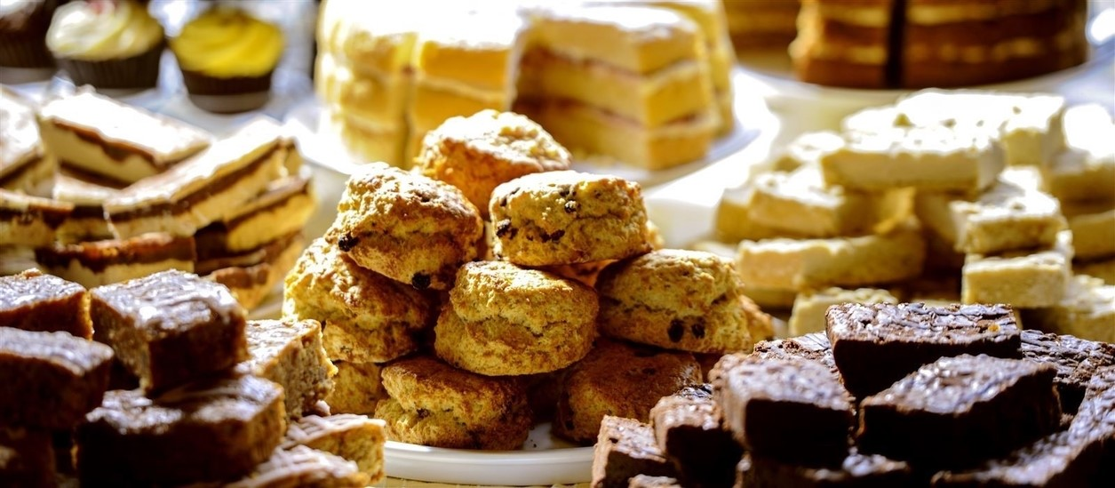 Cakes and scones