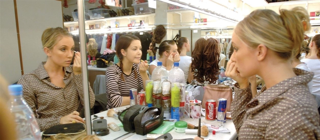 Christmas Spectacular dressing room